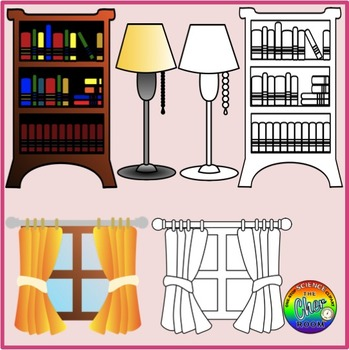 Living Room Clipart (My Home Series I)