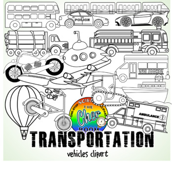 Vehicles Clipart