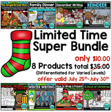 LIMITED TIME OFFER 70% SAVINGS - 8 Product Holiday Super Bundle