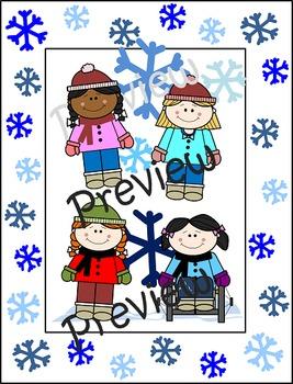 LIMITED TIME--> Winter Wonderland Girls {Clip Art}