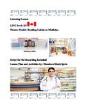 LINC / ESL: Reading Labels on Medicine (Includes Activities) CLB 2/3
