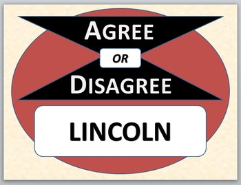 LINCOLN - Agree or Disagree Previewing Activity
