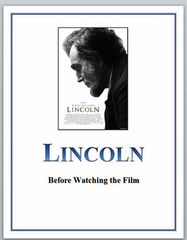 LINCOLN film:  Activities for before watching the movie
