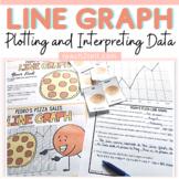 LINE GRAPH FREEBIE: CENTER ACTIVITY: PIZZA SALES