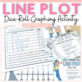 LINE PLOT DICE ROLL INTERACTIVE FREEBIE