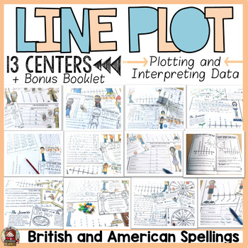 LINE PLOTS: GRAPHING CENTER ACTIVITIES