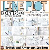 LINE PLOTS: GRAPHING CENTER ACTIVITIES