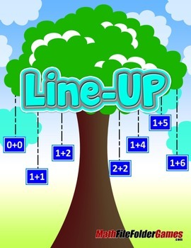 LINE-UP: Basic Addition facts {Math Game}