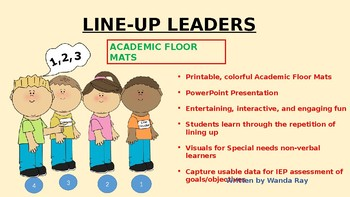LINE-UP LEADERS
