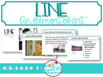 How to use different LINEs (an element of art) in your art