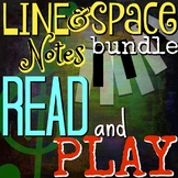 LINE and SPACE NOTES - Read & Play Treble Clef-Piano/Mallets - ELEM Music Lesson