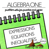 LINEAR EXPRESSIONS, EQUATIONS, INEQUALITIES