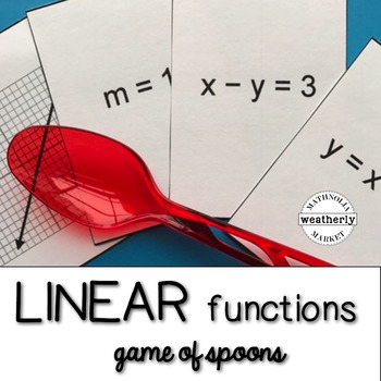 LINEAR FUNCTIONS - game of spoons