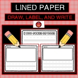 LINED PAPER - PRIMARY
