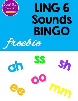 LING 6 Sounds BINGO