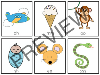 LING 6 and Learning to Listen Sounds Picture Cards