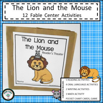 LION AND THE MOUSE FABLE UNIT FOR EMERGENT READERS