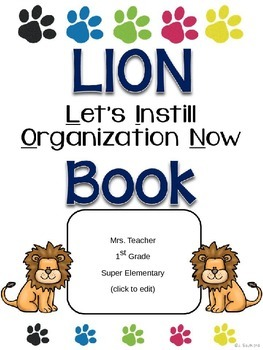 LION Communication Folder