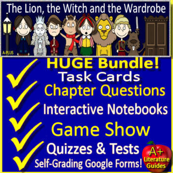 The Lion, the Witch and the Wardrobe Google Novel Study - Paperless OR Print