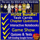 The Lion, the Witch and the Wardrobe Google Novel Study with Self-Grading Tests