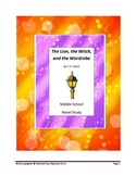 Middle School Novel Study (LION, WITCH, WARDROBE)--Common Core Aligned