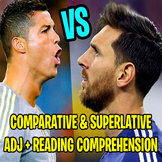 LIONEL MESSI VS CRISTIANO RONALDO: Comparative and Superla