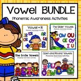 LIPS Phonemic Awareness Supplemental Activities BUNDLE:  The VOWELS