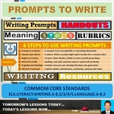 PROMPTS TO WRITE: HANDOUTS