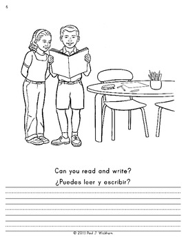 LISTEN, WRITE & READ Activities for Sight Word Practice LEVEL 4 English-Spanish