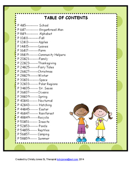 LISTENING WORKSHEETS for Kindergarten