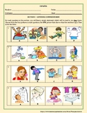 SPANISH: INTERPRETIVE LISTENING ACTIVITY/QUIZ ON DAILY ROU