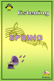 LISTENING TO MUSIC - SPRING