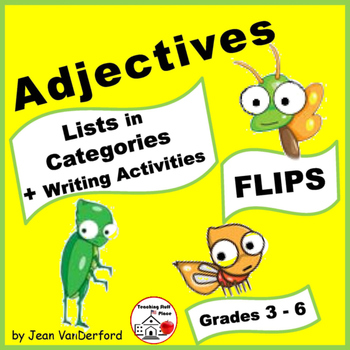 LISTS | ADJECTIVES | REFERENCE ♥ FLIPS | Quality,Opinion,S