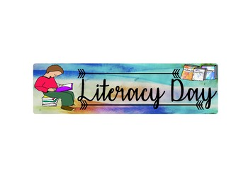 BACK TO SCHOOL- BOOK MARK LITERACY DAY
