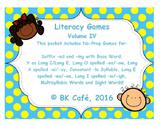 LITERACY GAMES Vol. 4