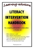 LITERACY INTERVENTION HANDBOOK - the HOW and WHAT of liter