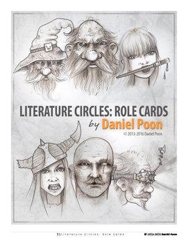 Literature Circles: Role Cards (Literacy, Literary Reading
