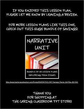 LITERARY DEVICES BATTLE - Lesson Plan - FNMI Theme