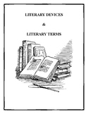 LITERARY DEVICES & TERMS WITH BONUS MATERIALS (COMPILATION)