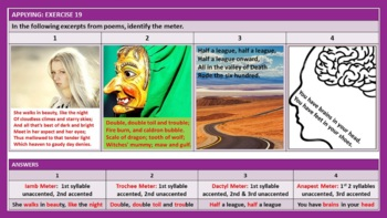 LITERARY DEVICES WORKSHEETS WITH ANSWERS
