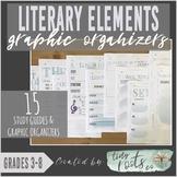 LITERARY ELEMENTS GRAPHIC ORGANIZERS | Grades 3-5 | Plot,