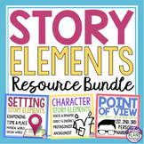 STORY ELEMENTS ASSIGNMENTS, PRESENTATIONS, & ORGANIZERS