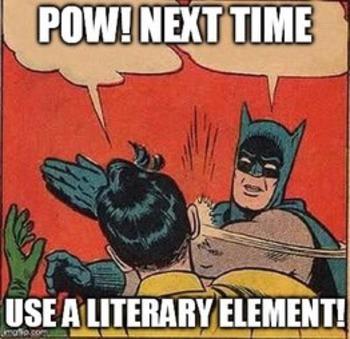 LITERARY ELEMENTS PRACTICE