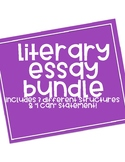 LITERARY ESSAY BUNDLE!
