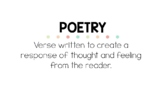 LITERARY GENRE POSTERS, 17 PAGES, READING GENRE POSTERS, B