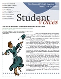 LITERARY MAGAZINE - FULL COLOR 20-page TEMPLATE
