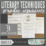 LITERARY TECHNIQUES ORGANIZERS | Grades 3-5 | Figurative Language Tools