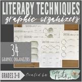 LITERARY TECHNIQUES ORGANIZERS | Grades 3-5 | Figurative L