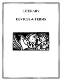 LITERARY TERMS (FICTION) & LITERARY DEVICES (FIGURATIVE LANGUAGE) ASSESSMENTS