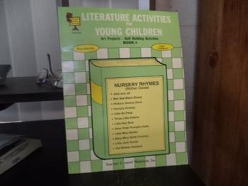 LITERATURE ACTIVITIES     NURSERY RHYMES